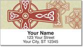 Celtic Cross Address Labels