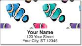 Painted Clown Fish Address Labels