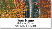 Autumn Ivy Address Labels