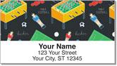 Foosball Address Labels