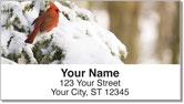 Winter Tree Address Labels