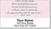 Fashionista Address Labels