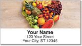 I Love Food Address Labels