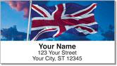 British Address Labels