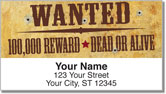 Wild West Address Labels