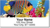 Tropical Fish Address Labels