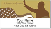 Martin Luther King Address Labels