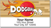 Dodgeball Address Labels