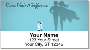 Nurses Make A Difference Address Labels