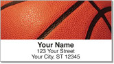 Classic Basketball Address Labels