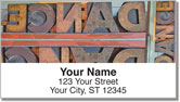 Hot Press Type Address Labels
