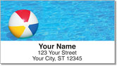 Pool Toy Address Labels