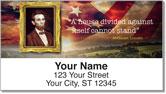 Abraham Lincoln Address Labels