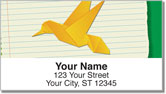 Origami Address Labels