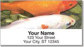 Koi Pond Address Labels