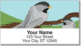Black-Capped Chickadee Address Labels