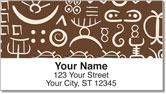 Adinkra Address Labels