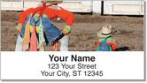 Rodeo Clown Address Labels