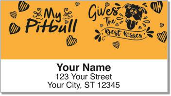 Pit Bull Address Labels
