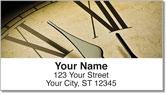 Clock Face Address Labels