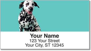 Darling Dalmatian Address Labels