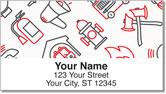 Fire Station Address Labels