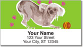 Chinese Crested Dog Address Labels