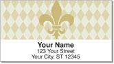 Classic Fleur de Lis Address Labels