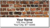 Brick Wall Address Labels