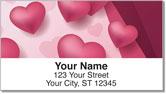 I Love You Address Labels