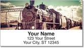 Rail Yard Address Labels