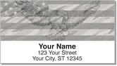 Patriotic Eagle Address Labels
