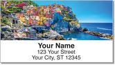 European Architecture Address Labels