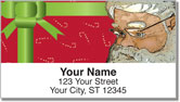 Father Christmas Address Labels