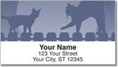 Cat Nightlife Address Labels
