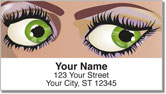 Luscious Lashes Address Labels
