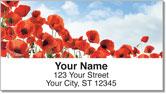 Poppy Address Labels