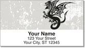 Dragon Tattoo Address Labels