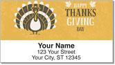 First Thanksgiving Address Labels