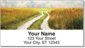 Country Road Address Labels