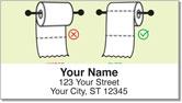 Over & Under Address Labels