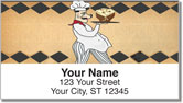 Whimsical Chef Address Labels
