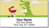 Crocodile Fun Address Labels