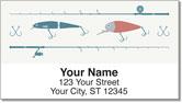 Fishing Lure Address Labels