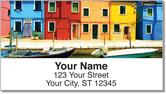 Italia Address Labels