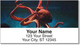 Octopus Address Labels