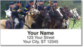Civil War Reenactor Address Labels