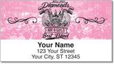 Biker Chick Address Labels