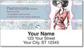 Fabulous Fashionista Address Labels