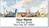 Flight Attendant Address Labels